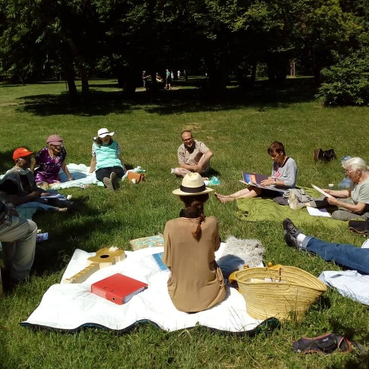 la Compagnie des gens d'ici   spectacle   théâtre   rue   salle   déambulation   lecture   poésie  Rhône-Alpes